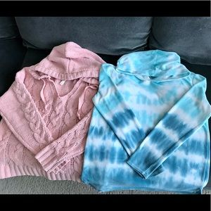 Girls LOT of 2 Tops for Size 14 Aero & Justice